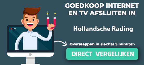 internet vergelijken in hollandsche-rading