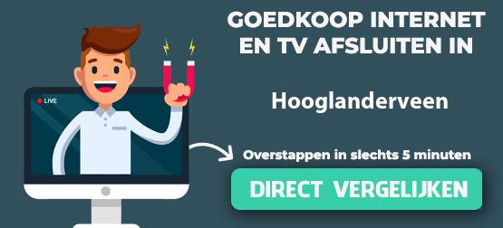internet vergelijken in hooglanderveen