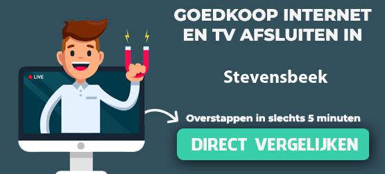 internet vergelijken in stevensbeek
