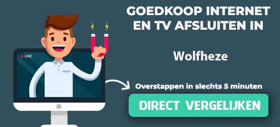 internet vergelijken in wolfheze